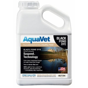 AquaVet® Black Pond Dye 1 Gallon