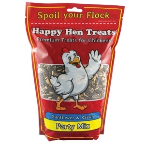 Happy Hen Treats: Sunflower & Raisin Party Mix