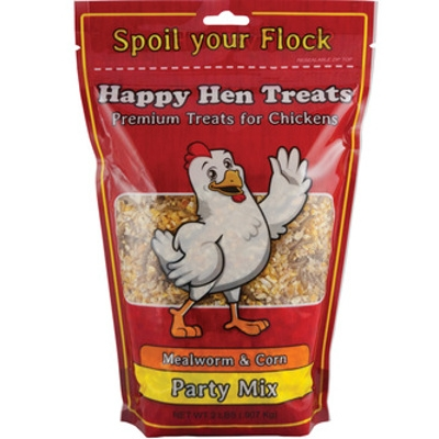 Happy Hen Treats: Mealworm & Corn Party Mix