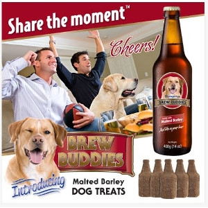 Brew Buddies Malted Barley Dog Treats