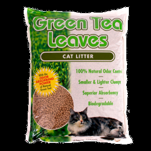 Green Tea Leaves Cat Litter 5.5 Pound