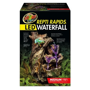 LED Waterfall Medium Wood