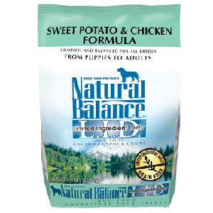 Natural Balance Grain Free Sweet Potato & Chicken Formula Dog Food