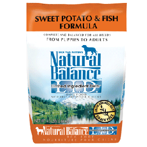 Natural Balance Grain Free Swet Potato & Fish Formula Dog Food