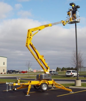 35' Towable Boom Lift (2 Avaliable)