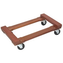 18x30 Rubber Top 4 Wheel Dolly
