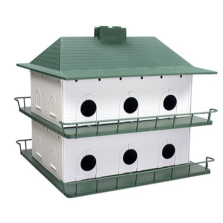 Plastic Purple Martin Bird House