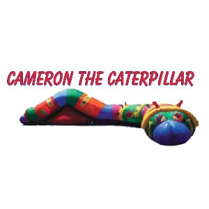 Inflatable Cameron the Caterpillar Tunnel