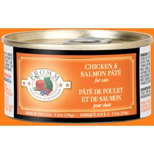 Fromm Four Star Chicken & Salmon Pâté Cat Can Food