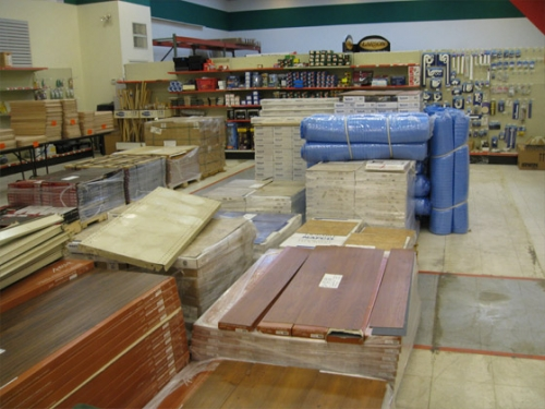 Steiny's Good Stuff Flooring Department