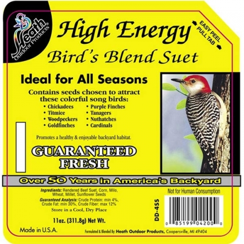 Heath High Energy Bird's Blend Suet