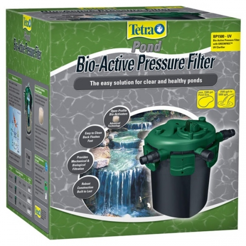 Bio Active Pond Pressure Filters with UV Clarifier