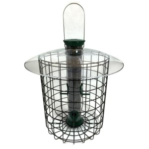 Droll Yankees Sunflower Domed Cage Feeder- Green