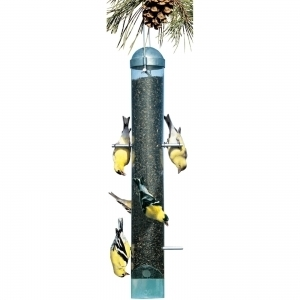 Woodstream Deluxe Upside-Down Thistle Feeder