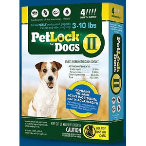 PetLock II Small Dog 4 Dose