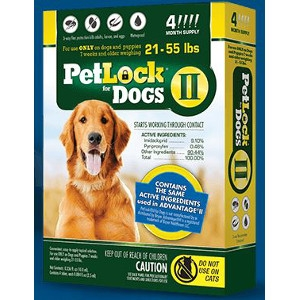 PetLock II Large Dog 4 Dose