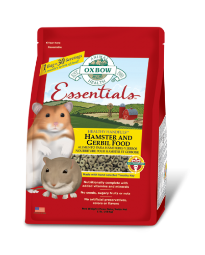 Oxbow Essentials - Hamster & Gerbil Food 1lb