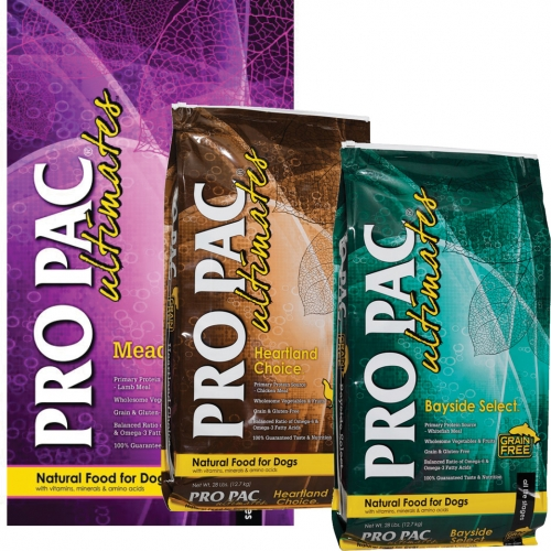 Pro Pac Ultimates Dog Food
