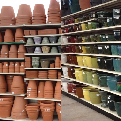 Ceramic and Terra Cotta Pottery