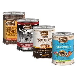 Merrick Dog Food Cans