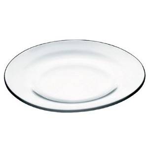 Glass Salad Plate