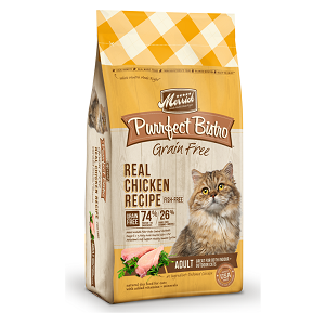 Purrfect Bistro Grain Free Healthy Adult Chicken Recipe 4lb Cat