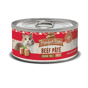 Purrfect Bistro Beef Pâté 5.5 oz Cat