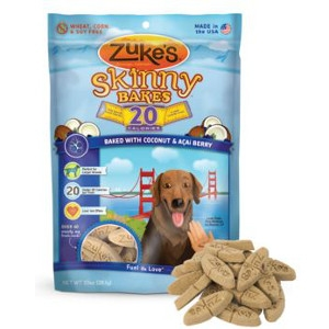 Zuke's Skinny Bakes® 20-Calorie Coconut & Acai Dog Treat