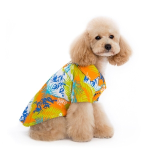 DOGO Pet Fashions Tropical Island Shirt - Orange