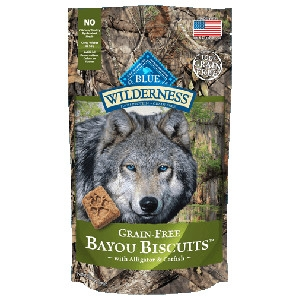 BLUE Wilderness® Bayou Biscuits™ with Alligator & Catfish