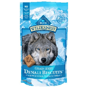 BLUE Wilderness® Denali Biscuits™ with Wild Salmon, Venison & Halibut