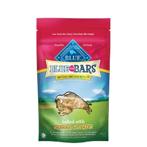 BLUE Mini Bars® Banana & Yogurt Natural Mini Dog Biscuits