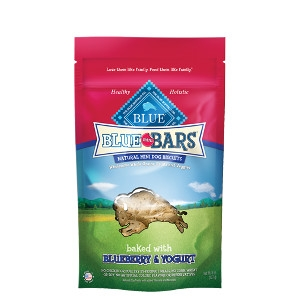 BLUE Mini Bars® Blueberry & Yogurt Natural Mini Dog Biscuits