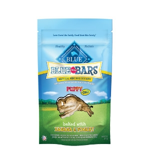 BLUE Mini Bars® Banana & Yogurt Natural Mini Dog Biscuits for Puppies