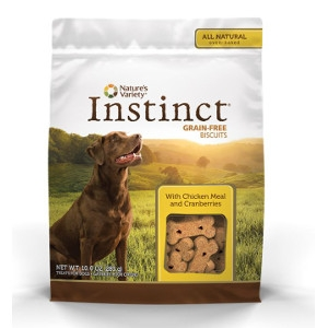Nature's Variety Instinct Biscuits Chicken Meal with Cranberry