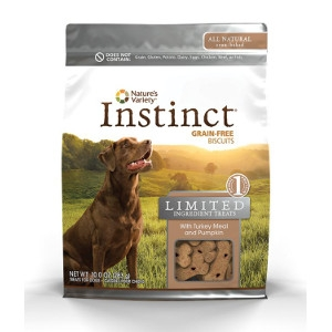 Nature's Variety Instinct Limited Ingredient Treat Turkey & Pumpkin Biscuits