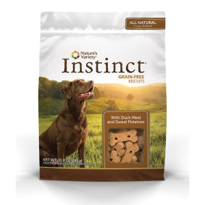 Nature's Variety Instinct Biscuits Duck Meal with Sweet Potato & Cinnamon