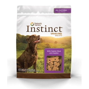 Nature's Variety Instinct Biscuits Rabbit Meal with Apples and Ginger