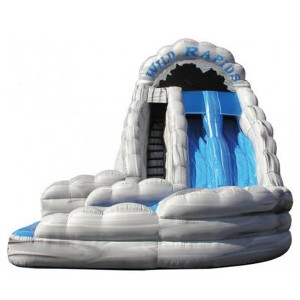 18 Foot Wild Rapids Slide with Pool