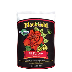 BLACK GOLD® ALL PURPOSE POTTING SOIL WITH RESILIENCE® 2 Cubic Foot