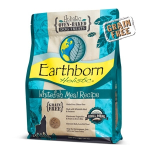 Earthborn Holistic® Whitefish Meal Recipe Biscuits Dog Treats