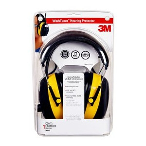 3M Digital WorkTunes Hearing Protector and AM/FM Stereo Radio