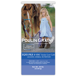 Poulin Grain E-TEC® Senior Low Carb Horse Feed