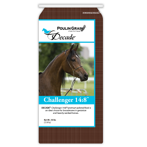 Poulin Grain DECADE™ CHALLENGER 14:8™ Horse Feed