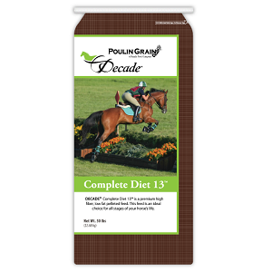 Poulin Grain DECADE™ COMPLETE 13™ Horse Feed