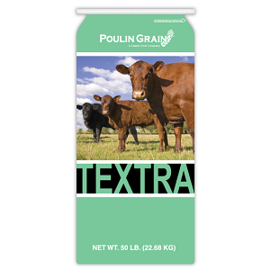 Poulin Grain Textra 14% Stock Feed