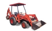 Kubota B21 Tractor with Backhoe