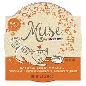 Muse by Purina: Natural Chicken Recipe in Broth Cat Food