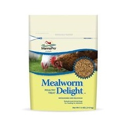 Mealworm Delight Poultry Treat - 7.5 OZ