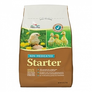 Chick Starter Non-Medicated Poultry Feed - 5#